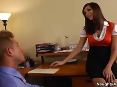 office, boss, big-tit, heels, brunette, naughty-america, holly, ass, cock, boobs, secretary, busty, michaels