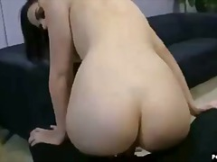 Booty bounces on cock