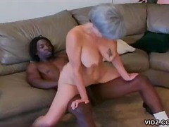 boobs, tattoo, on top, hardcore, granny, mature, interracial
