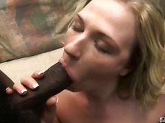 shaved, oral, curly haired, blowjob, big cock, interracial, hardcore