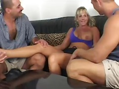 oral sex, threesome, nanay