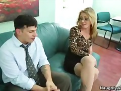 pussy, sheena, secretary, blowjob, small-tits, pornstar, glasses, boss, office, sex, blonde, stockings, shaw