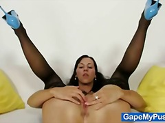 shaved, t.y., babes, extreme, closeups, fingering, pussy, gaping, bizarre