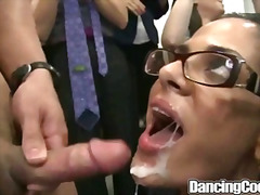 dance, bj, group, big cock, coed, party, orgy, bear, muscule, interracial