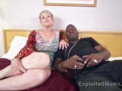 granny, cream-pie, mature,