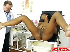 clinic, doctor, medical, hospital, latina, vagina, pussy-eating