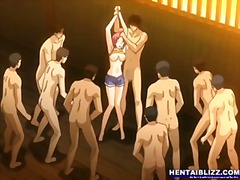 coed, groupsex, hentai, brats, four-some, gangbang, animation