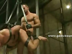 fetish, uniform, bizarre, leather, bondage, k.d., muscle, bdsm, hunk, gay,