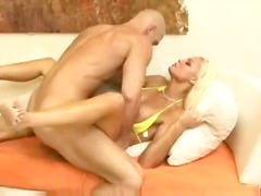 big-tits, babe, big-dick, sperm, blonde, eyes, facial, hard, cum-shot