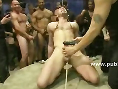 muscle, hunk, gay, fetish, group, spank, bdsm