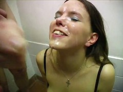 blowjob, cum-shot, amateur, cumshot, threesome