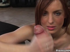 hand job, hard, pov