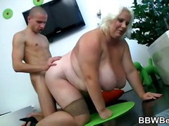nylon, blond, hard, bbw, ouer