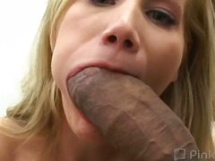 branleuses, blondes, jeune fille, interracial, grosses bites, éjaculations, pipes