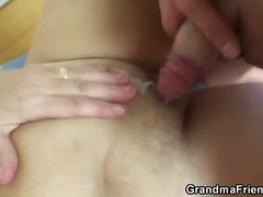 blond, driesaam, ouer, bbw, ouma, amateur, hard