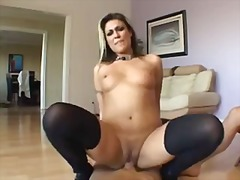 Hot anal scene ends with a messy enema
