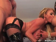 cumshot, hardcore, group-sex, facial, threesome, big-tits