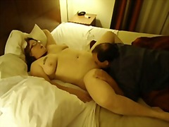 Creampie eating after her bbc