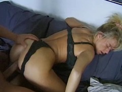 blond, bj, milf