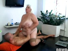 hard, ouer, bbw, blond