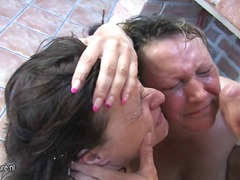 father, clip, cock-riding, hungarian, slut, man, busty, red-head, face-fucking, loves