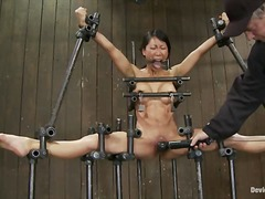 humiliation, chained, orgasm, bdsm, asian, fetish, slave, shaved