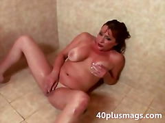 mature, housewife, fingering, wife