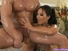 natural-boobs, asian, blowjob, babe, titjob, handjob