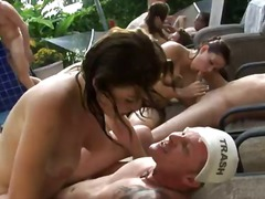 anal, oral, fêtes, groupe, pipes, oral, hardcore