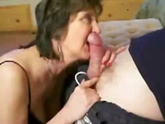 cock-riding, sucking, homemade, ass-licking, brunette