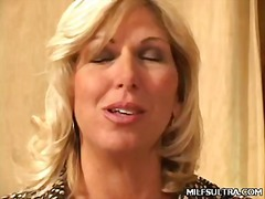 Blonde milf debbie stripping