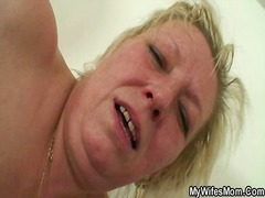 wife, housewife, cheating, grandma, old, scandal, granny, mother, mom, daughter, young, mature