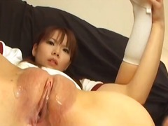 pussy-eating, asian, t.y., speculum