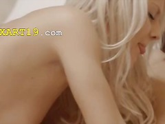 Blowjob Blond Threesome