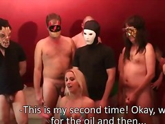 swapping, facial, bukkake, blowjob, cumshot, group, spanish, gangbang, cum, swallowing