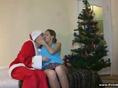 Anal santa in the house