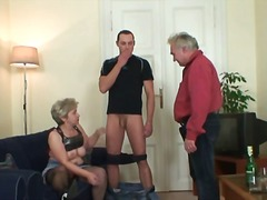 reality, blowjob, old, mom, housewife, granny, mature, young, blonde, wife, older, grandma