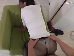 pantyhose, neighbour, facial, widow, stockings, tight, nylons, cumshot, blowjob