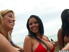blowjob, reality, outdoors, alexis, interracia, group, big, fire, beach, pornstar, team, bikini, diamond, video, banging