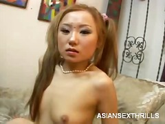 asian, toys, amateur, brunette, dildo