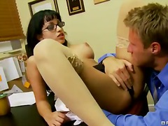 school, nice, massive, mature, boobs, fake, office, natural, abella