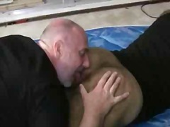 rimming, ass, fat, bear, lick, gay