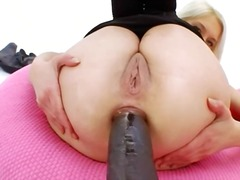 dildo, ass, anal, black, toys, tight