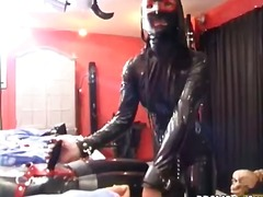 bondage, latex, bdsm, brunetter, fetish