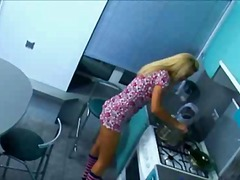 Amatører, Teenager, Blondiner, Russere, Pov