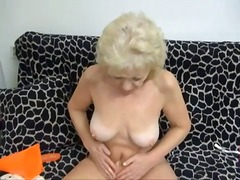 granny, masturbationen, strip