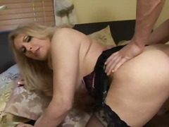 guy, sucking, shemale, blonde, anal, college, fucking, stockings