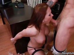 gigantic, busty, big, over, blowjob, doggystyle, hugedick