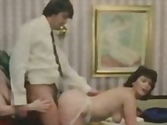 vintage, titten, oral, klassisch, retro, threesome, cumshot, deutsch