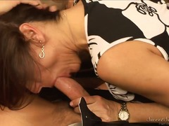 double, deepthroat, women, young, blowjob, messy, movies, lick, video, drooling